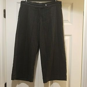 Pin Strped Capris